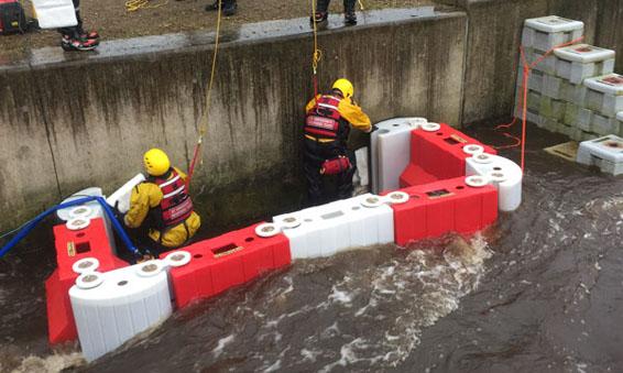 Flood Barrier Assembly
